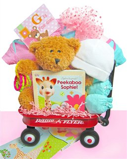 A Baby Girl Is Born! | New Baby Gift Wagon