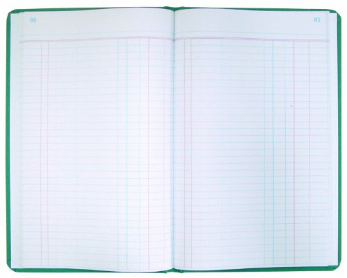 UPC 073333660326, National Brand Journal, Green Canvas, 12.125 x 7.625 inches, 300 Pages (A66300J)