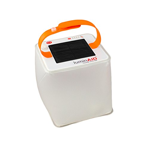 No 6. LuminAID Inflatable Solar Lantern