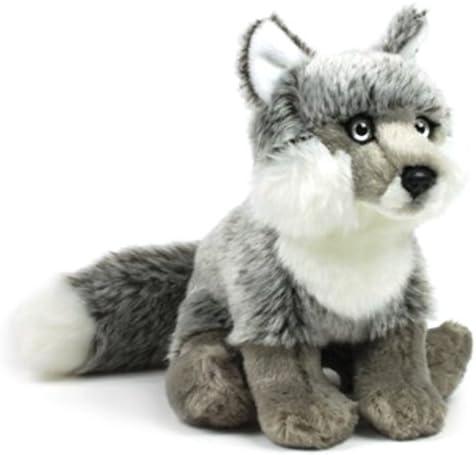 Silver Fox Stuffed Animal, Wwf Plush Animal Silver Fox 15 Cm Amazon De Spielzeug