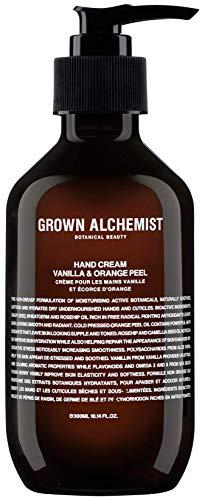 Grown Alchemist Hand Cream – Vanilla Orange Peel 300 Milliliters, 10.14 Ounces