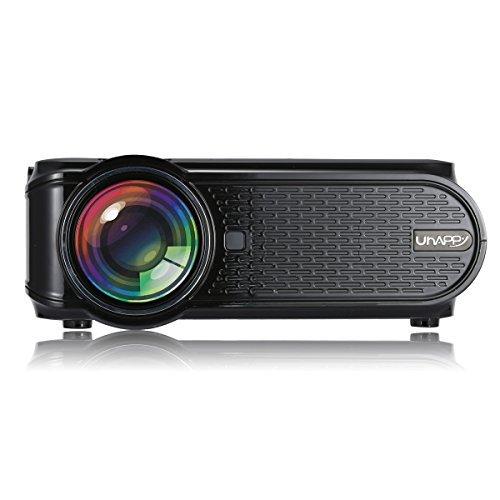 Mini Projector,CamKing U90 1500 Lumens 1080P Video Projector for Home Cinema