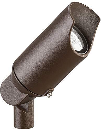 (Kichler 15398AZT Accent 1-Light 12V, Textured Architectural Bronze)