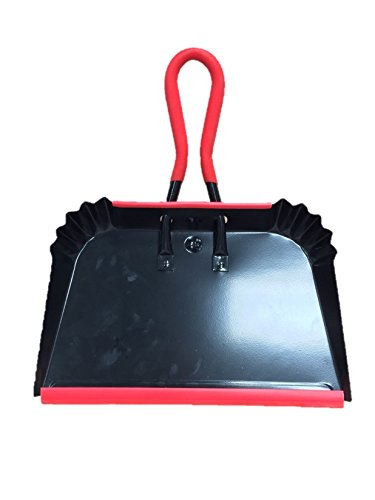 """Heavy Duty 16"""" Deluxe Industrial Strong Metal Dustpan Extra Large Strong Garden The Dustpan and Brush Store"""