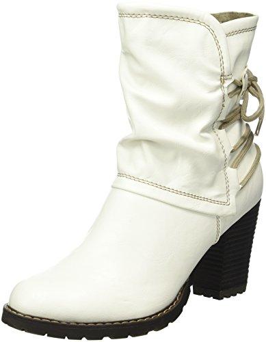 Tamaris 25359, Bottes Classiques Femme Blanc (White 100)