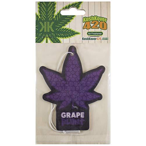 Kush Kover 420 Grape Blunt fruit sweet home new car hanging air freshener scent (Blunts Sweet)