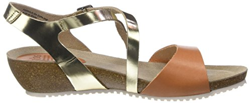 Brown G46 Champagne Toe Open Sandals Women's Stefany Tbs sienne gqnX8A