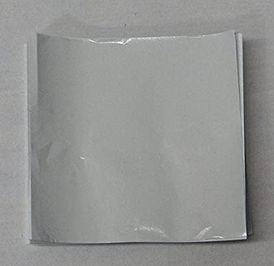 """3"""" x 3"""" White Confectionery Foil Wrappers Candy Wrappers Candy Making Supplies"""