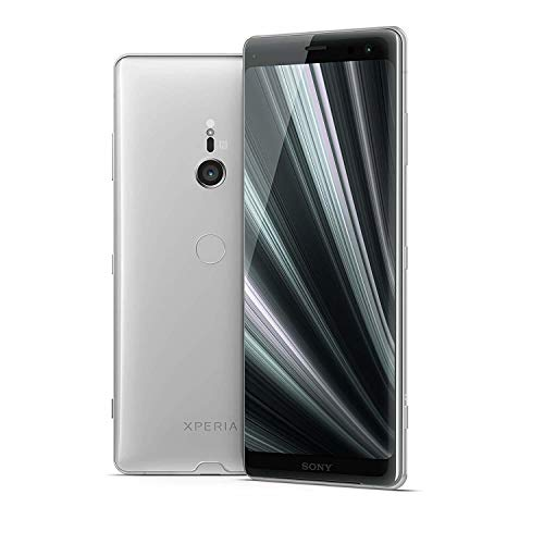 """Sony Xperia XZ3 Unlocked Smartphone, 64GB - 6.0"""" OLED Screen - White Silver (US Warranty) [Phone ONLY Version]"""