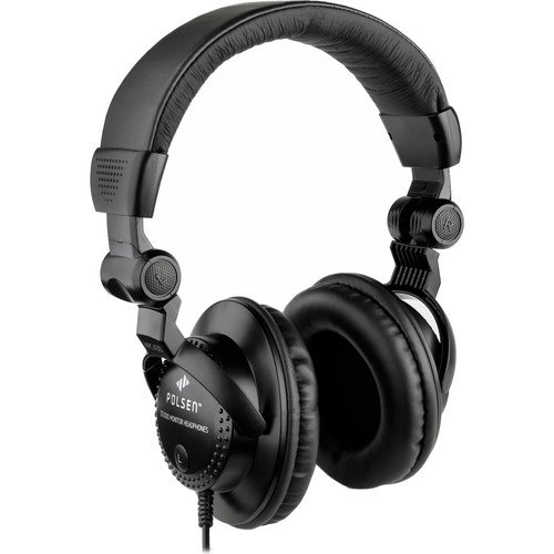 Polsen HPC-A30 Closed-Back Studio Monitor - Back Closed Professional Monitor Headphone