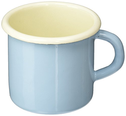 Karl Kruger 18PAB Sylt Pastell Series Mug, 0.35 l, Enamel Blue/Cream ()