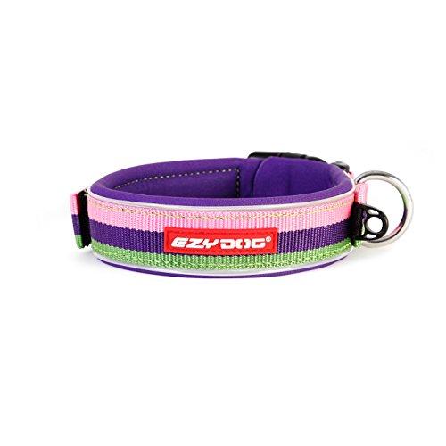 - EzyDog Neo Dog Collar, Medium, Bubble Gum