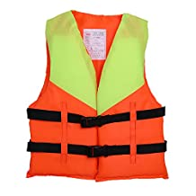 Children Boating Vest Life jacket Swimming Boating Fishing Floatation Device Drifting Kayak Sailing Ski Buoyancy Aid Lifesaving Jacket For Kid