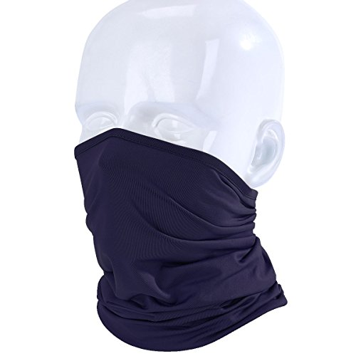 JIUSY Lightweight Neck Gaiter Neck Warmer Face Mask Windproo