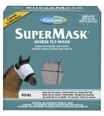 Farnam Home & Garden 100502912 SuperMask II Horse Fly Mask - Quantity 12 by Central Garden & Pet