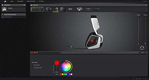 41V9sVdnYWL - CORSAIR VOID PRO RGB Wireless Gaming Headset - Dolby 7.1 Surround Sound Headphones for PC - Discord Certified - 50mm Drivers - Carbon