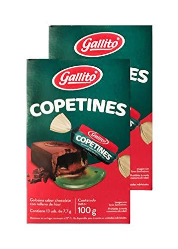 Gallito Copetines Chocolates, 2 Bags of 3.52 Ounces