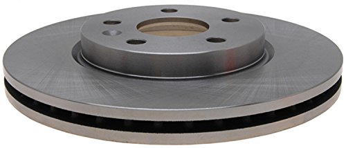 ACDelco 18A2822A Advantage Non-Coated Front Disc Brake Rotor