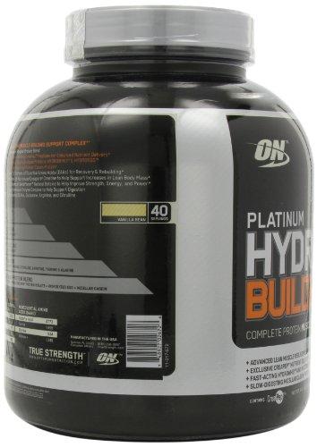 Optimum Nutrition Platinum Hydrobuilder, Vanilla Bean , 40 Servings 4.76 LB.