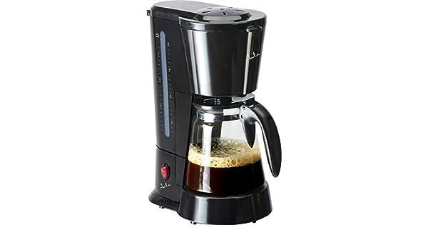 JATA CA288 - Cafetera (Cafetera de filtro, De café molido, 600 W, Negro): Amazon.es: Hogar