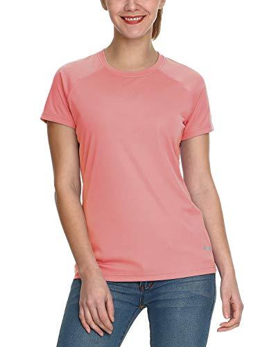 - Baleaf Women's UPF 50+ UV Sun Protection T-Shirt Outdoor Performance Short Sleeve Pink Size L