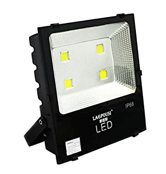 lagpousi Outdoor 200W LED Flood Light- 500W--800W HPS or HID Equivalent- 20000lm-Warm White 3000K Floodlight - Dongling Driver (E479166)And Puri LED