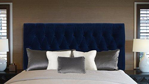 Bedroom Jennifer Taylor Home Maya Platform, Queen, Navy blue modern headboards