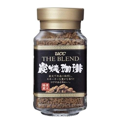 UCC Japan's No.1 Coffee Brand Popular Charcoal Roasted Sumiyaki Instant Coffee Blend, Tastes Just Like Fresh Brewed (1.58 oz, 45g) (Best Japanese Coffee Beans)