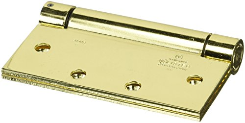 Stanley Hardware S420-014 2060R Spring Hinge in Bright Brass