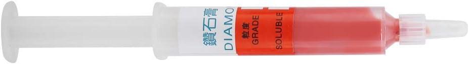 Diamond Abrasive Paste 5pc//set Diamond Grinding Polishing Paste Lapping Compound Abrasive Paste Needle Tube Size : W1.5# 6000