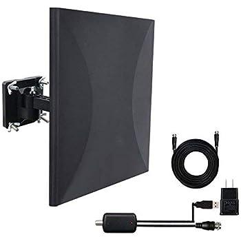 Amazon.com: 150 Mile Range Indoor/Outdoor 4K TV Antenna ...