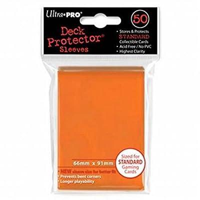 b5b86f33015 Magic - Funda metalizada, 50 unidades, color naranja (Ultra Pro 82673)