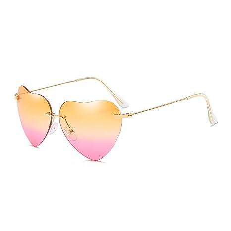 Gafas de sol Aolvo Gradient con forma de corazón, gafas de sol para mujer, 9e53df26f8
