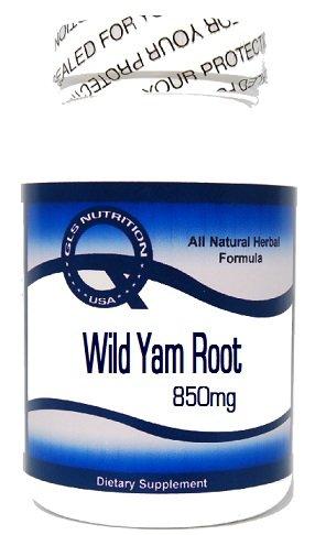 Wild Yam Root 850 мг 100 капсул ^ GLS