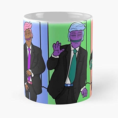 (Wall Trump Donald Coffee Mugs 11 Oz)