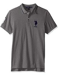 U.S. Polo Assn. Men's Slim Fit Short Sleeve Pique Polo Shirt