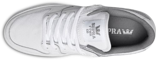Supra Mens Vaider Lc Lage Sneaker Wit