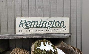 Letitia48Maud Vintage Remington fusils fusils Trade Sign: Amazon.fr ...