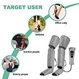 RENPHO Compression Leg Massager for Circulation and Relaxation, Calf Feet Thigh Massage, Sequential Wraps Device with 6 Modes 4 Intensities, Helps to Relax Leg Pain, Best Gifts for Moms and Dads