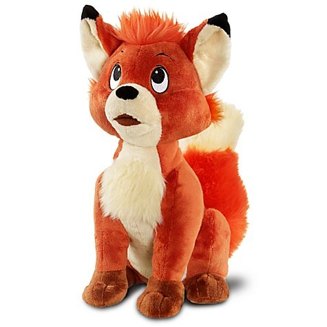 Amazon.com: Disney The Fox and the Hound Exclusive 13 Inch Deluxe Plush Figure Tod: Toys & Games