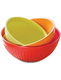Want Nordic Ware Prep and Serve Mixing Bowl Set, 3-Piece deliver