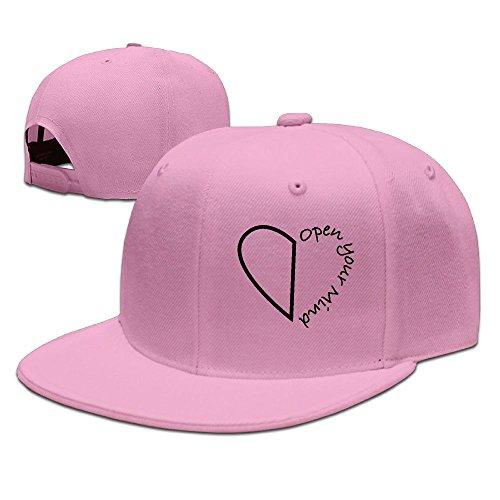 JOIAREGN Open Your Mind Unisex Baseball Hats Cool Flat Cap - Price Noten Dries Van