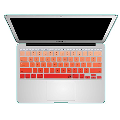 Litop 11inch Thin Gradient Series Silicone Keyboard Cover Skin for APPle MacBook Air 11