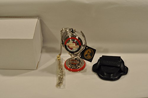 FRANKLIN MINT Harley Davidson Sportster POCKET WATCH with Eagle Stand ()