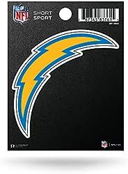 NFL Los Angeles Chargers Die Cut Team Logo Short Sport Sticker