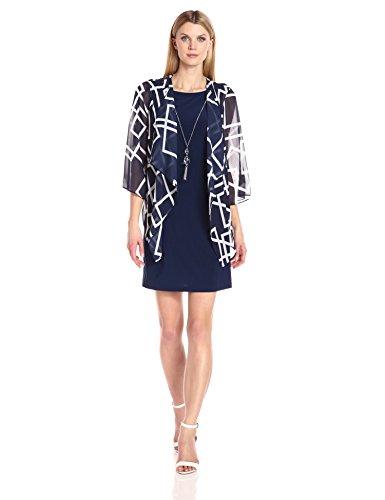 Mock Jacket Dress - 5