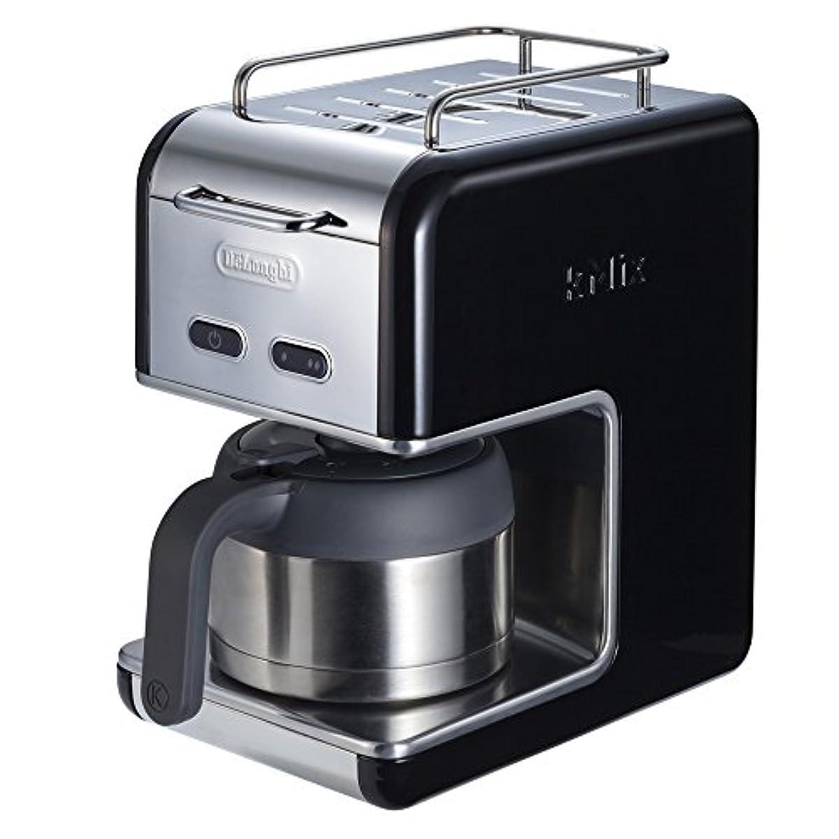 [해외] 드롱기(De'Longhi) KMIX COLLECTION drip 커피 메이커 프리미엄 블랙 CMB5T-BK CMB5T-BK
