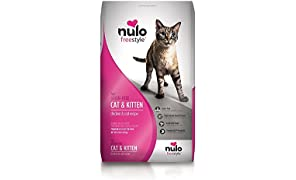 Nulo Adult & Kitten Grain Free Dry Cat Food With Bc30 Probiotic (Chicken, 12Lb Bag)