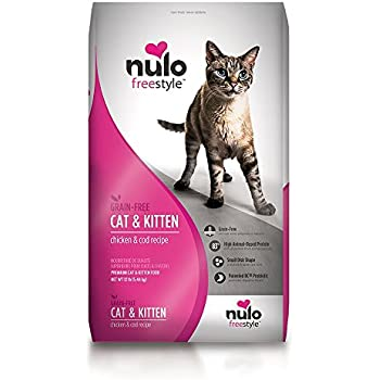 Nulo Grain Free Dry Cat Food with BC30 Probiotic (Chicken, 12lb Bag)