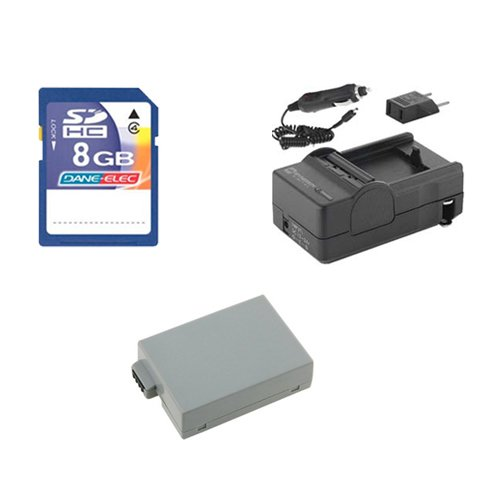 Sdm 1518 Charger (Canon EOS Rebel T5i Digital Camera Accessory Kit includes: SDLPE8 Battery, SDM-1518 Charger, KSD48GB Memory Card)
